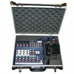 4 Kanal Mischpult, Soundcraft Notepad 124 1