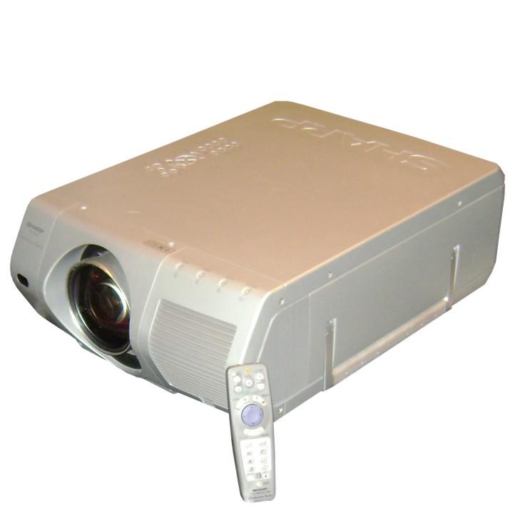 Beamer Projektor mit 6000 Ansi Lumen und Fernbedienung