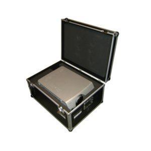 Beamer 6000 Ansi Lumen Projektor in seinem Case