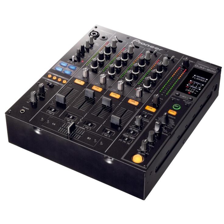 DJM 800 Pioneer DJ-Technik in Schrägriss