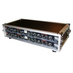 Frontansicht Tontechnik und Bühnenbau Kompressor Limiter