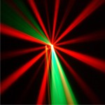 Effekstrahl Lasershow Lichttechnik und Bühnentechnik