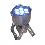 LED Scheinwefer blau für Bühnentechnik und Ambientebeleuchtung