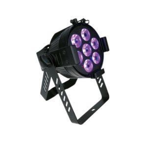 Scheinwerfer für Tanzflächenbeleuchtung und Bühnentechnik mieten