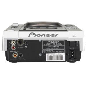 Anschlüsse Pioneer CDJ 200