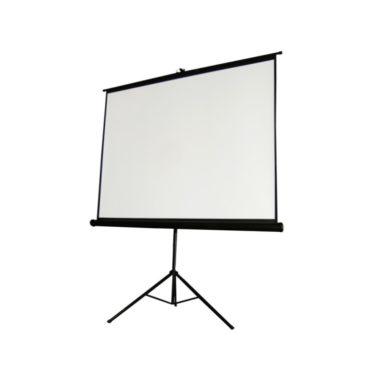 Stativleinwand Videotechnik für Beamer Projektor und Flatscreen