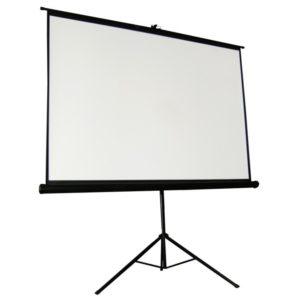 Rolloleinwand für Videotechnik
