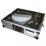 Plattenspieler Turntable Technics im Case
