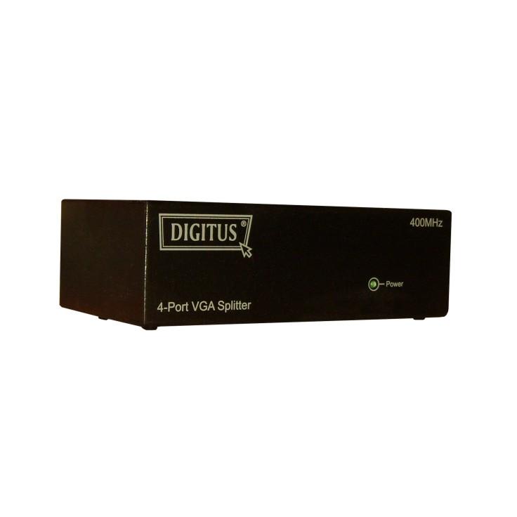 VGA Splitter 4 Port Verteiler für Videotechnik aller Art