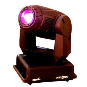Movinghead Martin MAC 2000 Profile mieten für Events und Veranstaltungstechnik