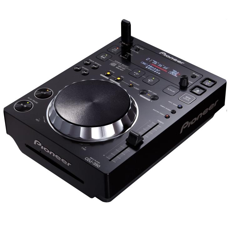 CDJ 350 von Pioneer DJ Equipment mieten bei Licht und Ton in Wien