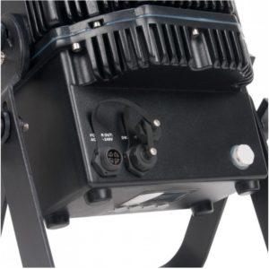 Akku-Lautsprechersystem Akku Scheinwerfer kabellose PAR Scheinwerfer outdoortauglich mieten