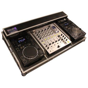DJM-700 DJM 700 und CDJ 350 in einem Case zu mieten