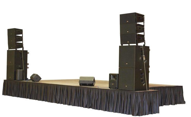 Buehnen Verleih Wien - mieten Sie indoor und outdoor Stage für kleine Veranstaltungen und große Events, auch mit sämtlicher Eventtechnik