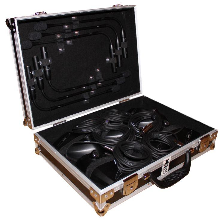 Titelbild von 6er Koffer Shure MX 412 Schwanenhalsmikrofon