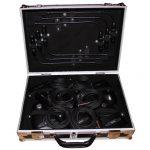 Frontansicht 6er Koffer Shure MX 412 Schwanenhalsmikrofon Phoenix Events