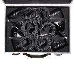 Unterseite 6er Koffer Shure MX 412 Schwanenhalsmikrofon