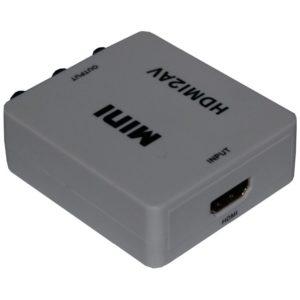HDMI input von HDMI zu FBAS Konverter