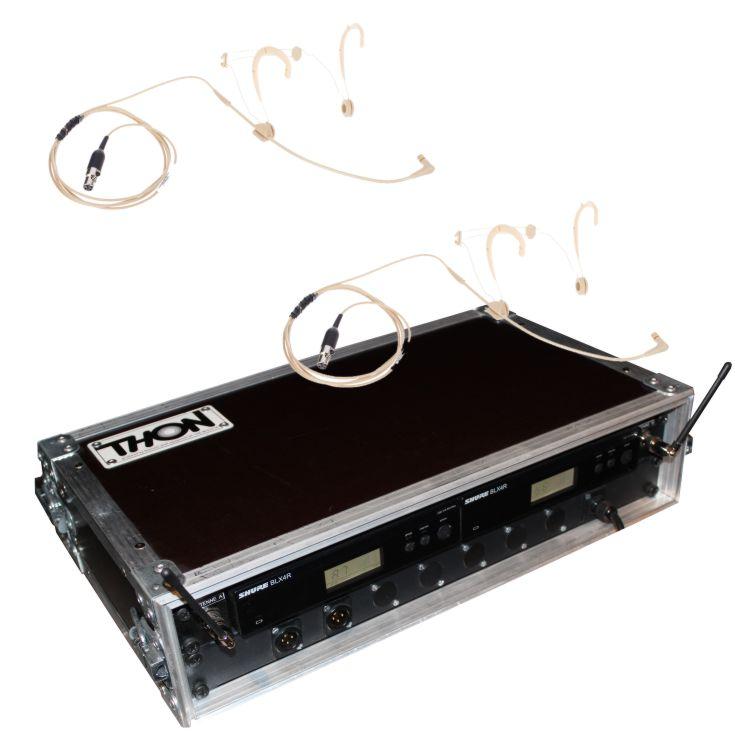 Headset Funkmikrofon Shure Beta 54 Doppelcase Hauptansicht Veranstaltungstechnik