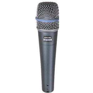 Kabelmikrofon Shure Beta 57A senkrecht