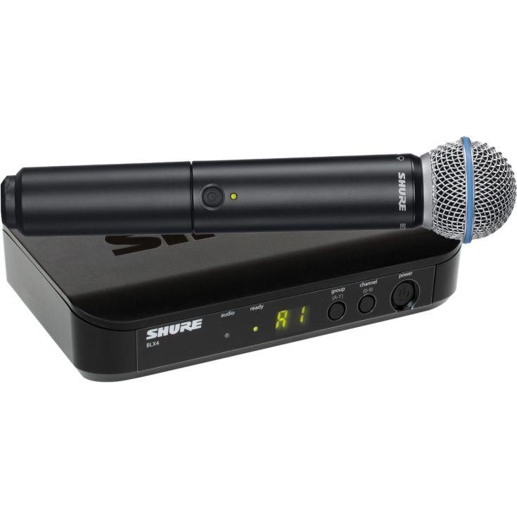 Funkmikrofon Shure Beta 58 inkl Tischempfänger zu mieten in Wien