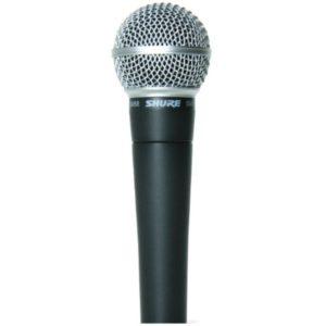 Kabelmikrofon Shure SM 58 Hochkant mieten