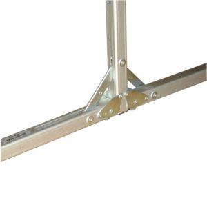 Detailansicht von Rahmen-Leinwand Rückpro 310cm x 180cm 16-9