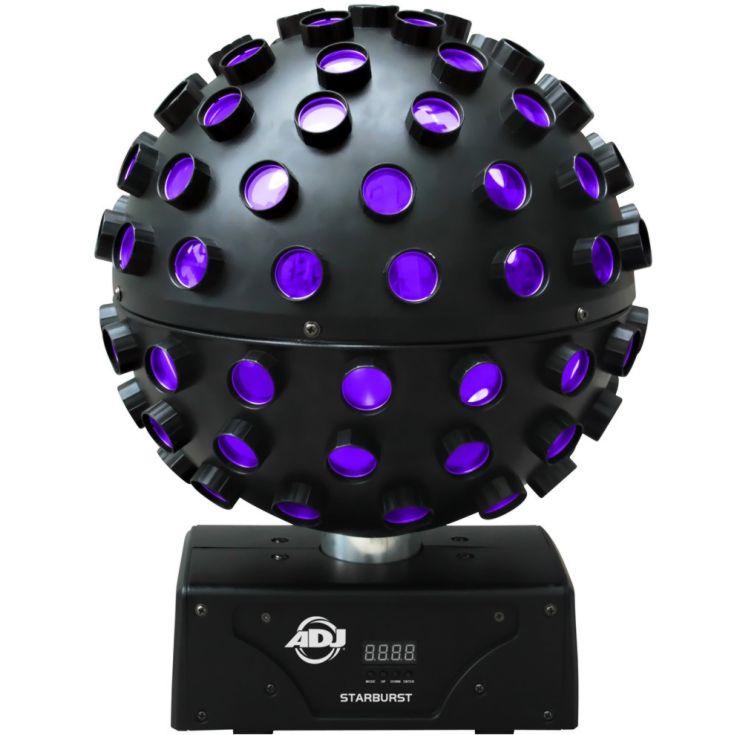 Spiegelkugel Lichteffekt - Starburst LED mieten