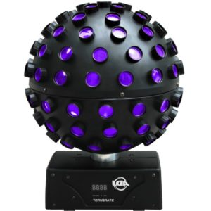 Spiegelkugel Lichteffekt - Starburst LED zweites Bild
