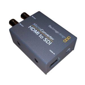 HDMI zu SDI Konverter HDMI-Anschluss sichtbar