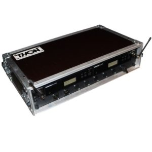 Ansteckmikrofon Funk Shure WL184 BLX Doppelcase front