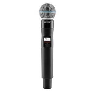 Funkmikrofon Shure Beta 58 QLXD 4er-Case Mikro