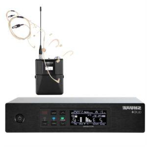 Headset Funkmikrofon Shure Beta 54 QLXD gedrehtes Titelbild