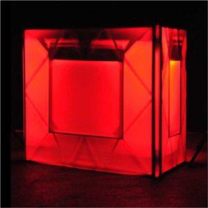 dj-pult-weiss rot hinterleuchtet