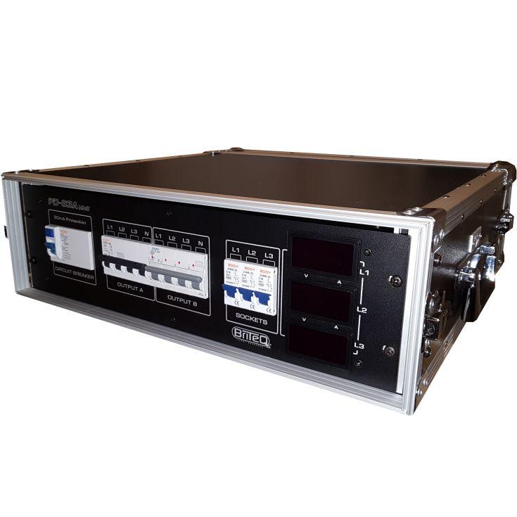 Starkstromverteiler mit Lastanzeige CEE63 Eventtechnik
