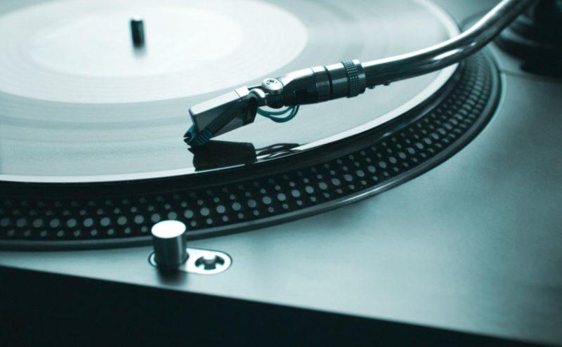 Technics Turntable Nahaufnahme DJ Equipment