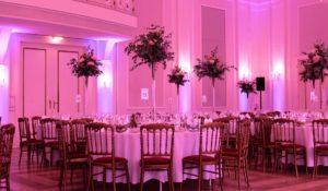 Musikanlage und Lichttechnik für Hochzeitsfest mieten