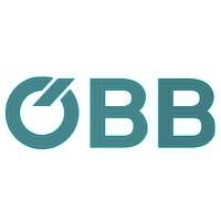 Logo der OEBB in türkisem Farbton