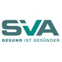 Logo der SVA in türkisem Farbton