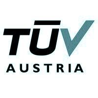 Logo vom TÜV Austria in türkisem Farbton