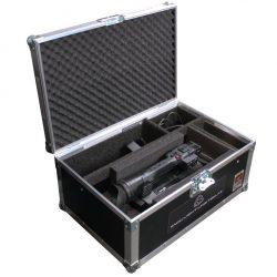 Das Case vom Camcorder Panasonic AG-AC160 geöffnet