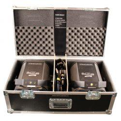 Lasersimulator Hybrid-Gerät in geöffnetem Case