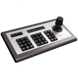 PTZ-Kamera Komplett-Set - PTZOptics Steuerpult in schräger Perspektive