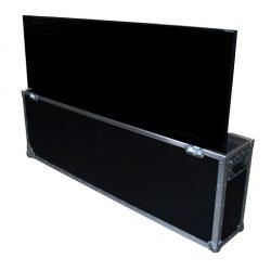 Flatscreen 70 Zoll (178cm) Ultra-HD im Case Vorderseite