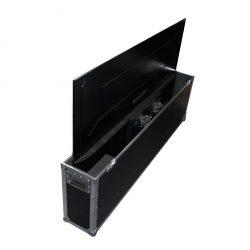 Flatscreen 70 Zoll (178cm) Ultra-HD im Case Rückseite