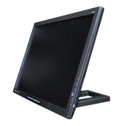 Flatscreen - Monitor 24 Zoll (60cm) Full-HD mit Standfuß von der Seite