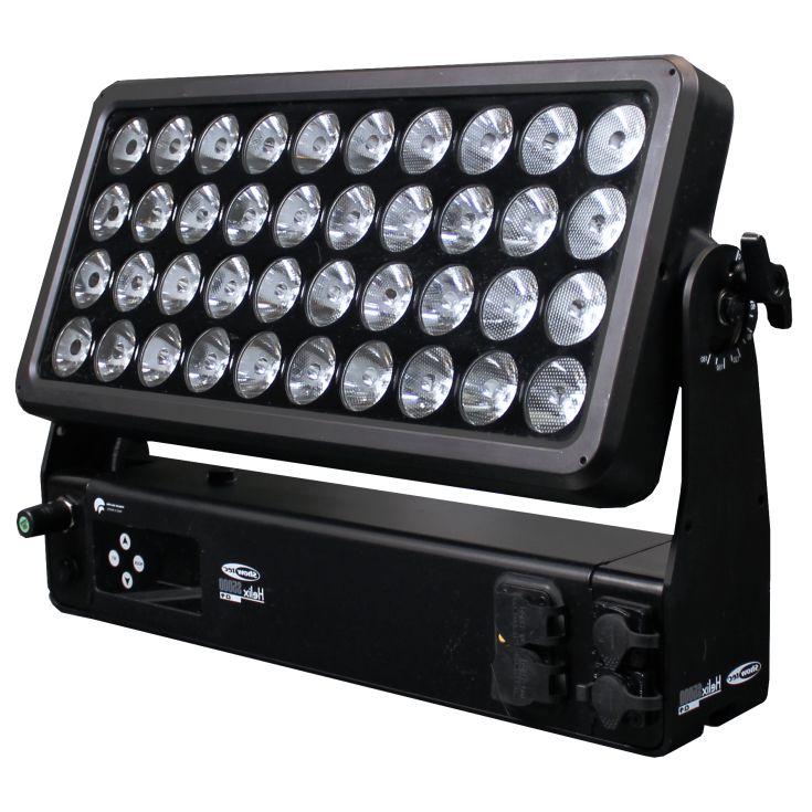 LED Outdoor Hochleistungs-Fluter RGBW - Helix S5000 Q4 - Hauptansicht von rechts