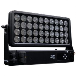 LED Outdoor Hochleistungs-Fluter RGBW - Helix S5000 Q4 - Frontale Ansicht