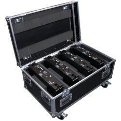 LED Outdoor Hochleistungs-Fluter RGBW - Helix S5000 Q4 - Transport-Case offen