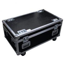 LED Outdoor Hochleistungs-Fluter RGBW - Helix S5000 Q4 - Transportcase geschlossen